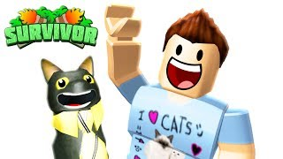 ROBLOX SURVIVOR with DENIS - LIVE!