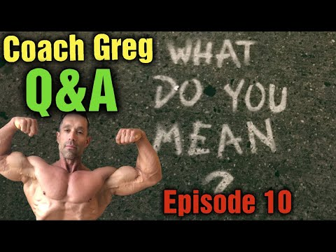 Question and Answer Greg Doucette Episode 10