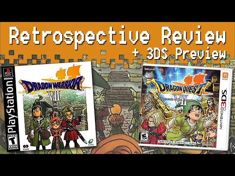 Dragon Warrior VII Retrospective Review + Dragon Quest VII Preview