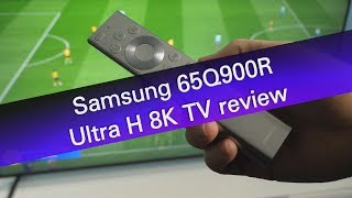 Samsung 65Q900R 8K QLED-series TV review