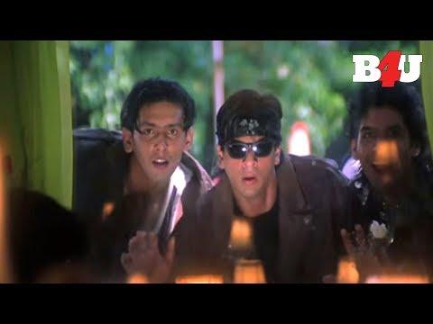 Shahrukh Khan Puts Cockroach On Mr. Savio's Plate | Funny Secen |  Aishwarya Rai, Shahrukh Khan
