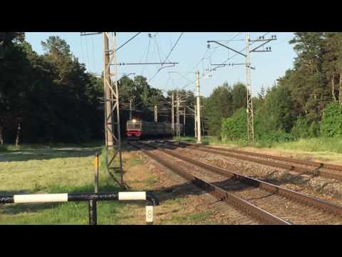 Railway Crossing in Bulduri, Latvia