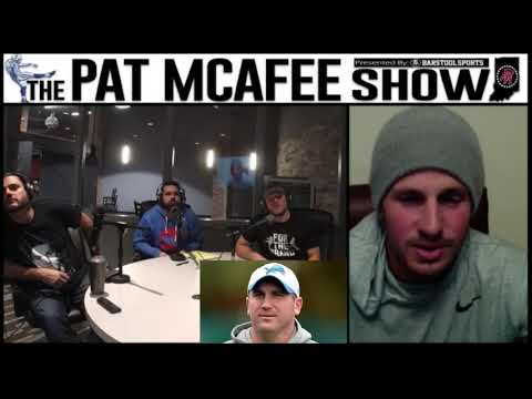 The Pat McAfee Show Simulcast Ep. 97 Pat and Dan Orlovsky Talk About Turkey Day Football 11-21-17
