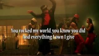 You Rock My World - Michael Jackson Lyrics Official Video