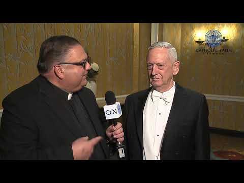 Alfred E. Smith Foundation Dinner - General Mattis Full Interview