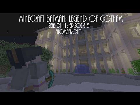 """Minecraft Batman: Legend of Gotham - Season 1 Episode 5 """"Homefront"""""""