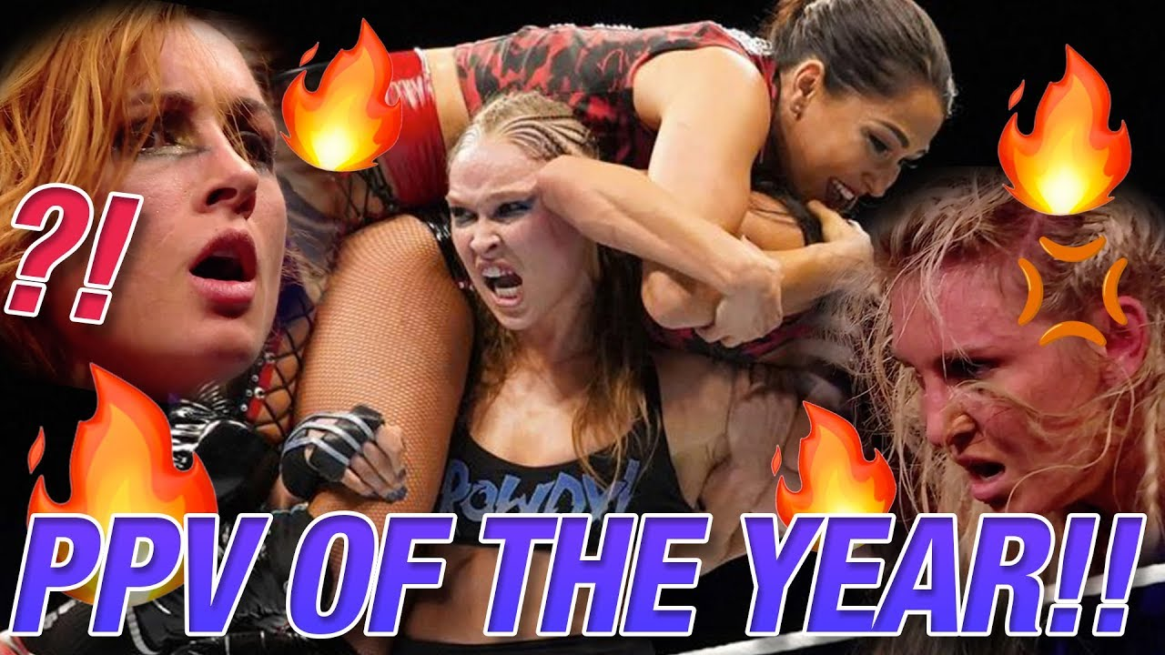 WWE Evolution 2018 Week Women's Wrestling Review | Ring The Belle