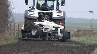 road maintenance technology with one machine from germany