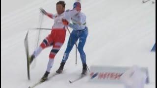 Dramatic and UNFAIR finish at Lahti Nordic Ski World Championship Men's team sprint