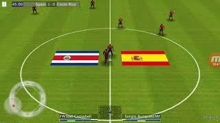 Испания Коста Рика 3 0 Финал Кубок Франции