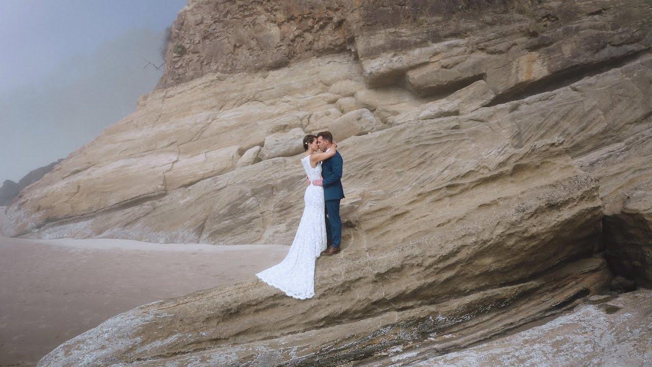 Coastal Oregon Elopement   Filmed on GH5 and Mavic 2 Pro   Concetta Films