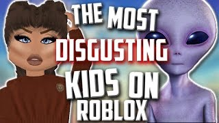 ROBLOX Uncanny Valley (DISGUSTING ROBLOX KIDS)