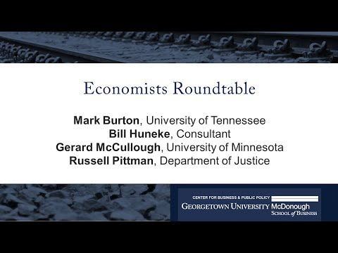 Economists Roundtable: The Economics and Regulation of the Freight Rail Industry