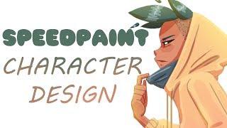 [SPEEDPAINT] Character Design !