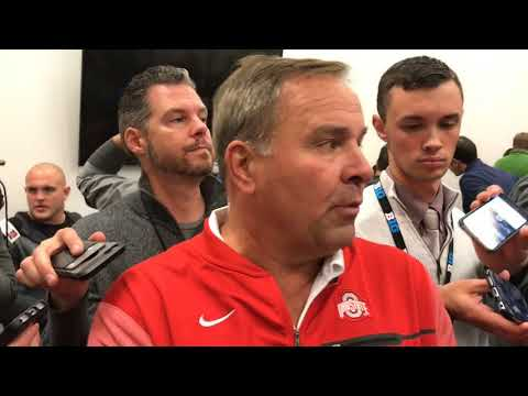 Ohio State offensive coordinator Kevin Wilson after win over Penn State