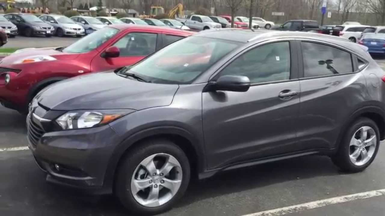 2016 Honda HRV EXL with Navigation First Look  YouTube