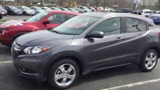 2016 Honda HR-V EX-L with Navigation First Look