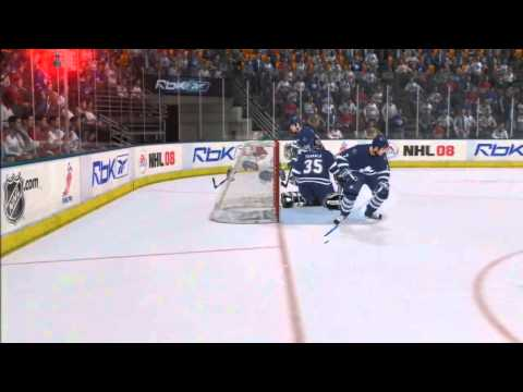 NHL 08 - Montreal vs. Toronto - Superstar Difficulty - PS3