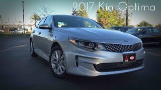 2017 Kia Optima EX 2.4 L 4 Cylinder Road Test Review