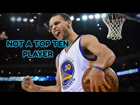 Dahntay Jones says Steph Curry is not a top-10 player in the league