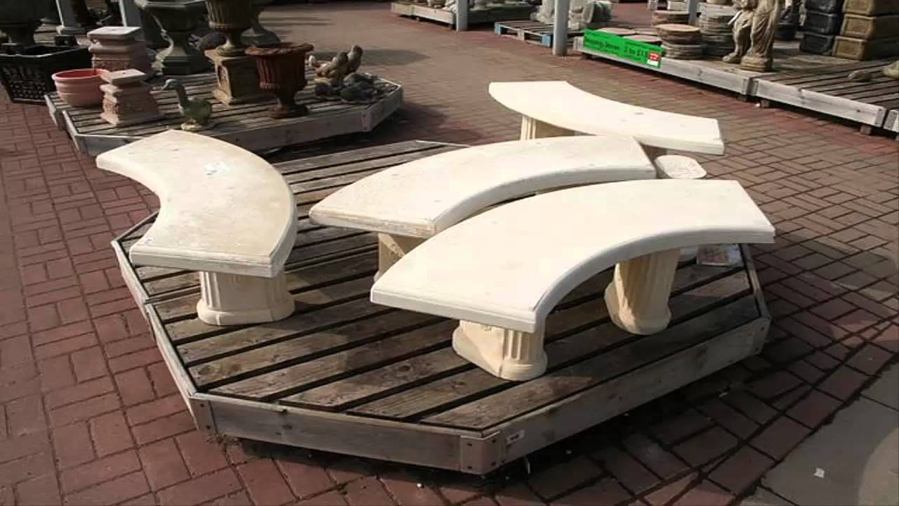 [Garden Ideas] *Stone Bench Garden Ideas*