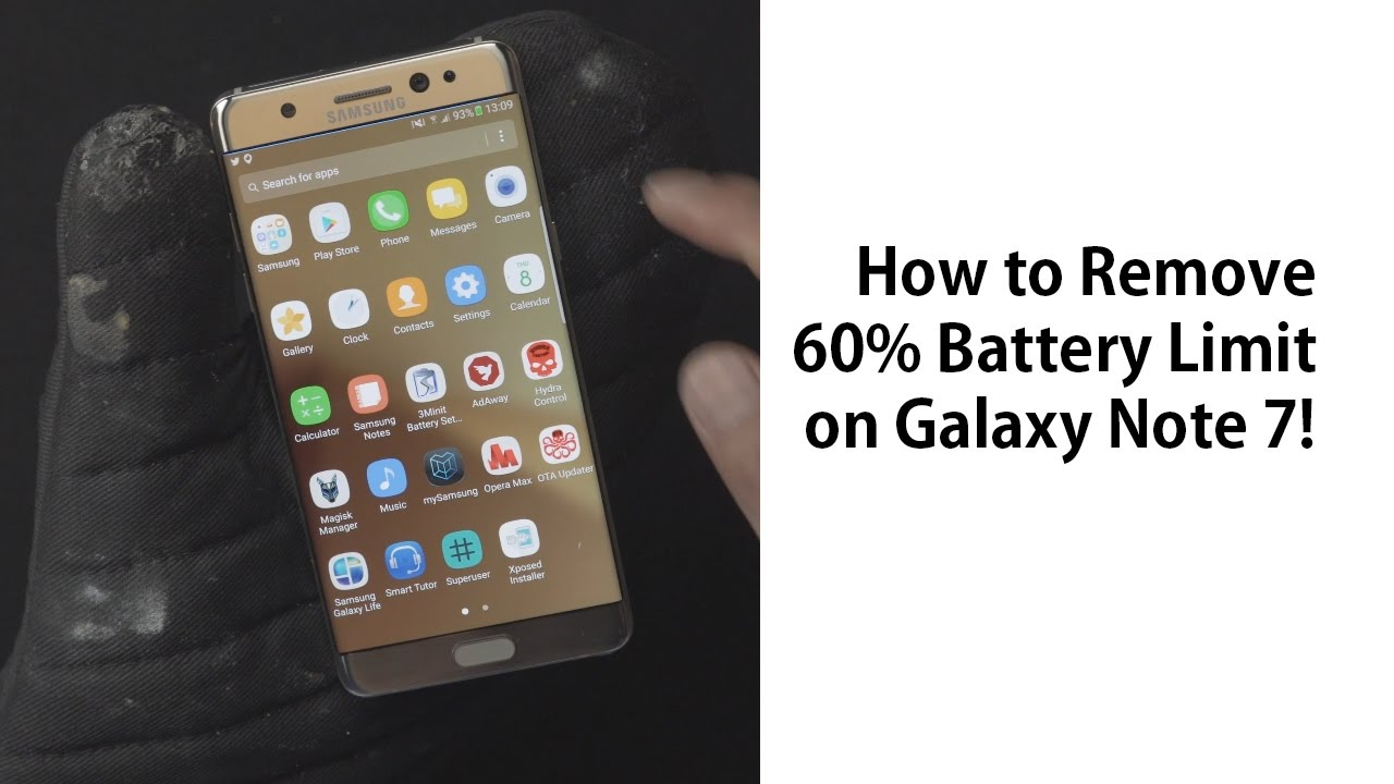 How to Remove/Fix 60% Battery Limit on Galaxy Note 7