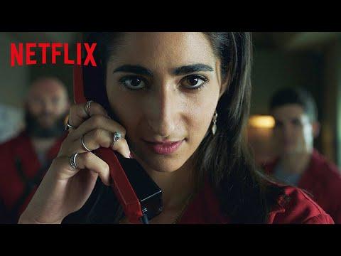 9 Minutos de Nairóbi Quebrando Tudo em La Casa de Papel | Netflix