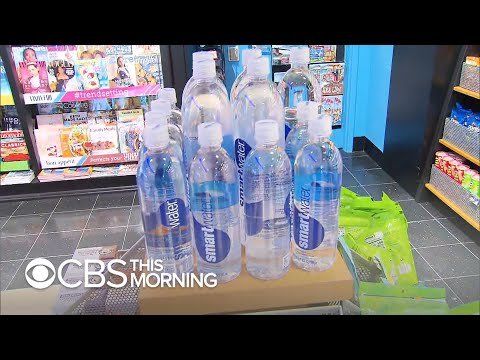 San Francisco Airport rolls out ban on plastic water bottles from YouTube · Duration:  4 minutes 14 seconds