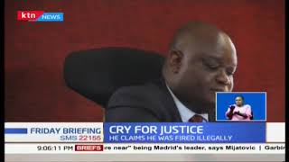 Former acting Chief Magistrate Daniel Mudanyi Ochenja sues JSC for unlawful dismissal