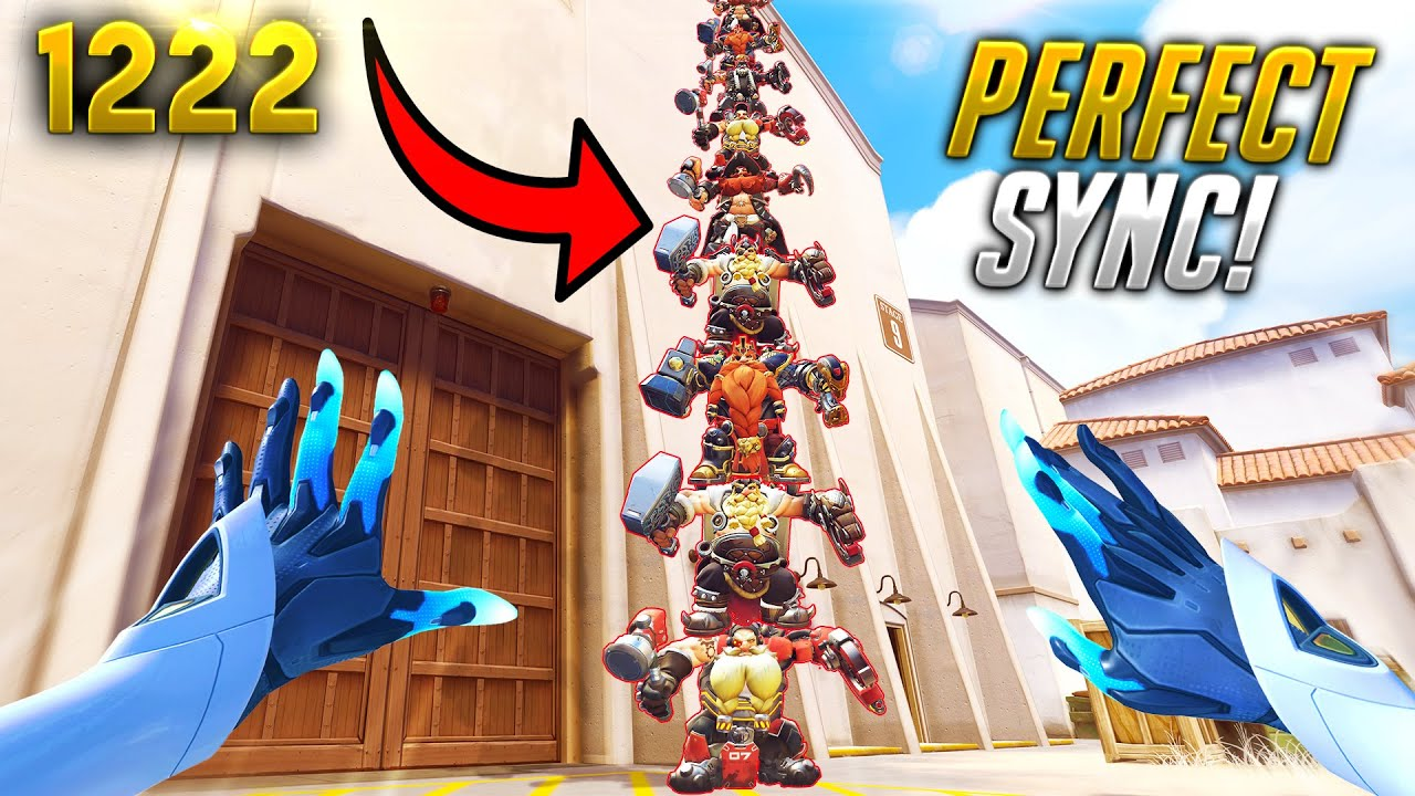 THE *PERFECT* Torbjörn TOWER...   Overwatch Daily Moments Ep.1222 (Funny and Random Moments)