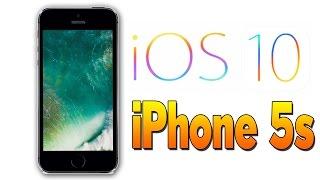 видео Тормозит ли ios 10 на айфоне 5s