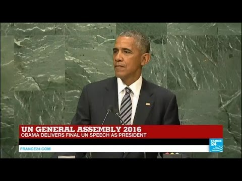 REPLAY - Watch Barack Obama final UN speech as US president