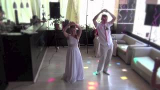 Прикольный свадебный танец (первый танец с сюрпризом)