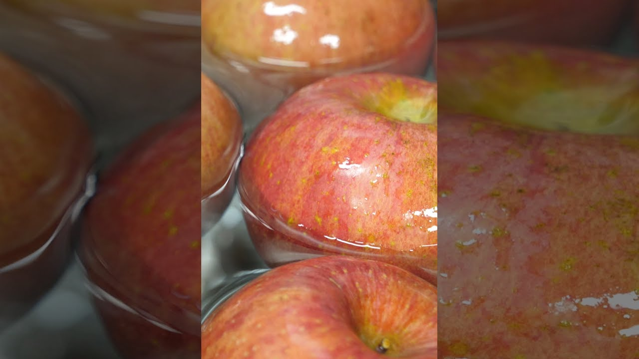 How To Make Apple Pie - Korean Street Food #shorts