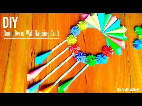 Easy Wall Hanging Craft Idea || How To Make DIY Wallmate With Paper For Room Decoration !