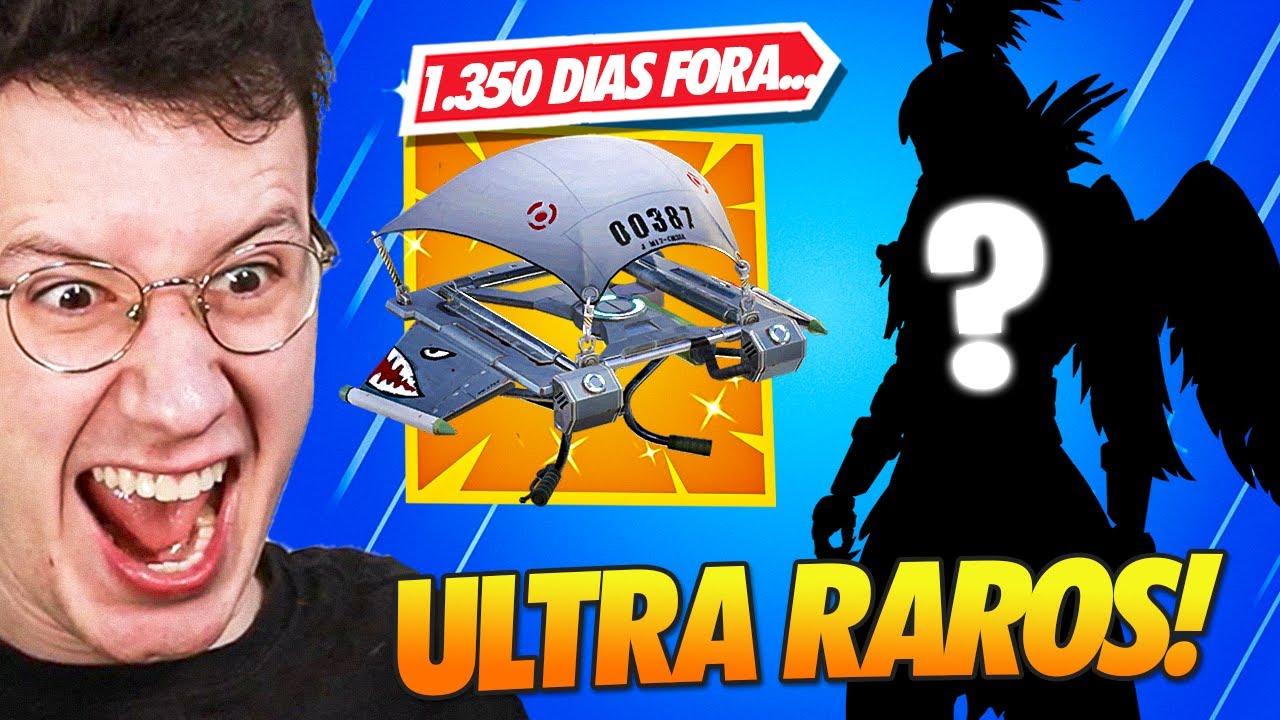 Download OS 15 ITENS MAIS RAROS DO FORTNITE (SÓ 1x NA LOJA!!)