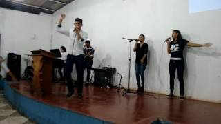 O hino Fernandinho ministério Paz de Santa Maria do Úruará Prainha pará