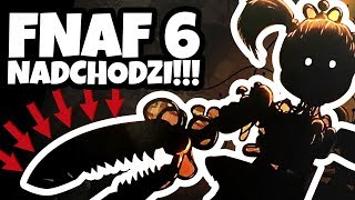 FNAF 6!? TEASER SCOTTA! - Five Nights At Freddy's Files TEORIA