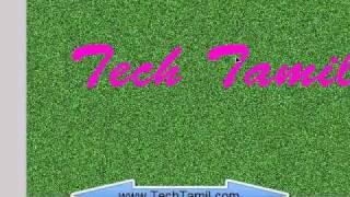 grass text effect