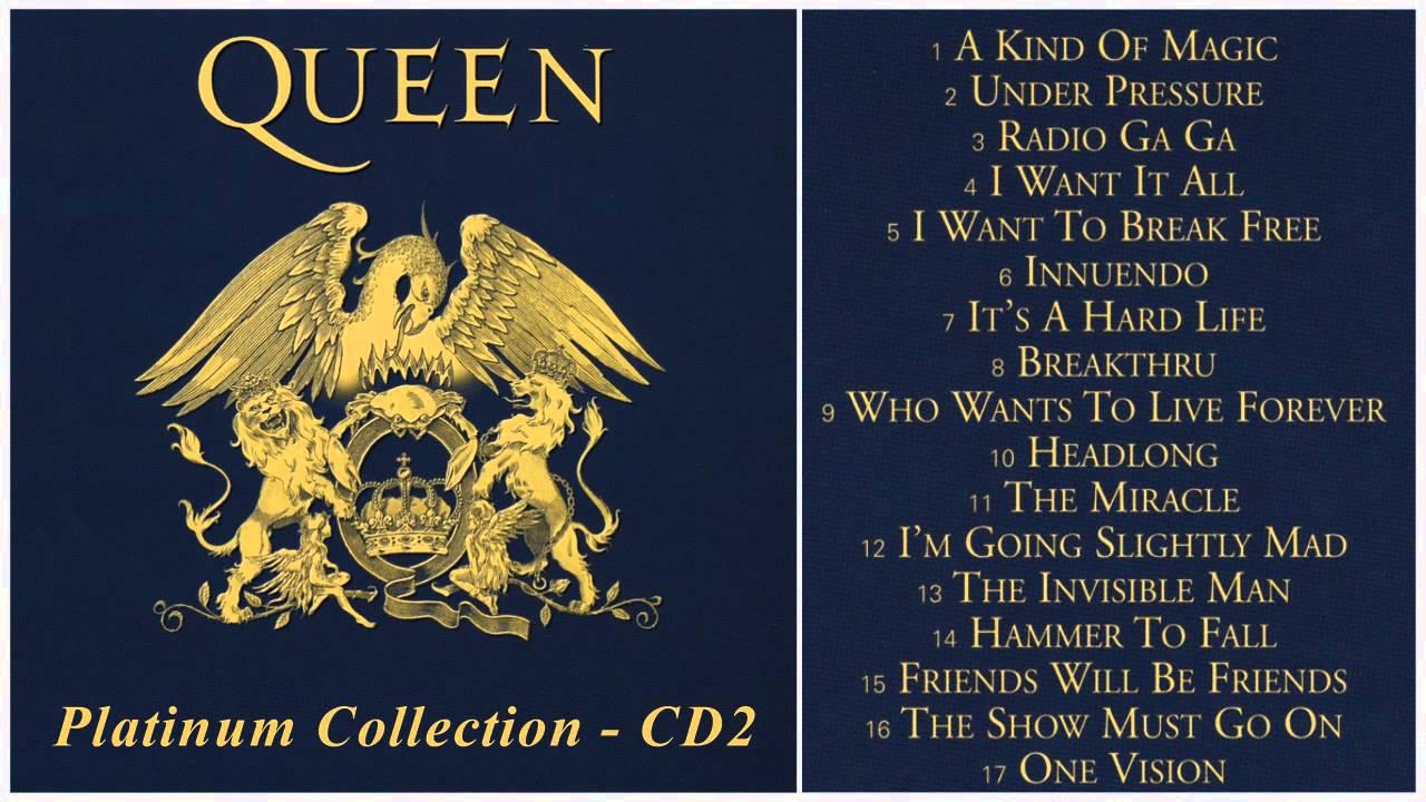 Photo enigma platinum collection full image - Queen Platinum Collection Cd2