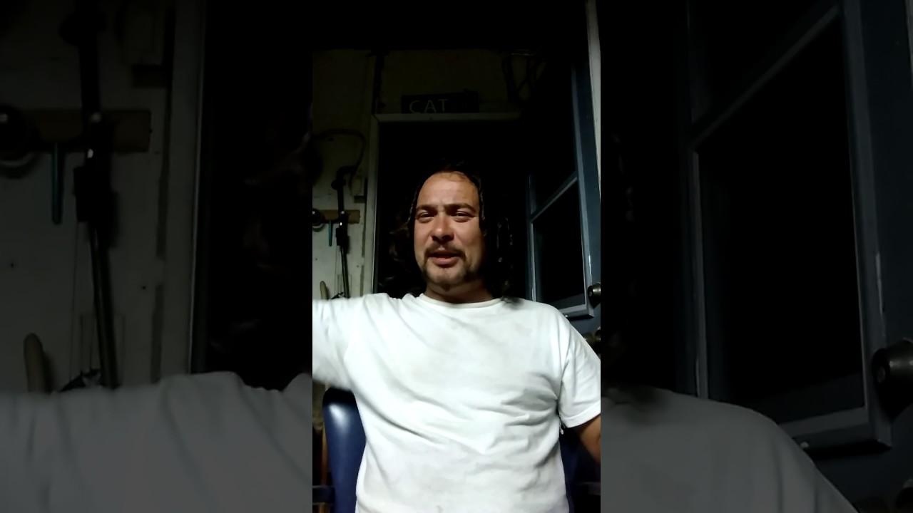 Steve sucks fat black cock