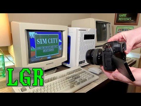 LGR - Recording CRT Computer Monitors