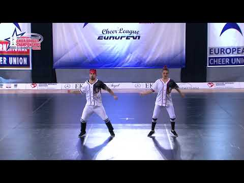 35 SENIOR DOUBLE CHEER HIP HOP Egglezakis   Stathi AGOP MYRTALI GREECE