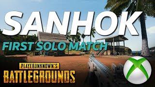 PUBG Xbox SANHOK - FPP Solo Match - First Match First Dinner?