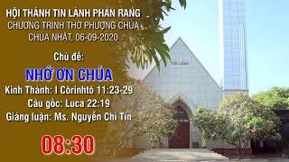 HTTL PHAN RANG - Chương trình thờ phượng Chúa - 06/09/2020