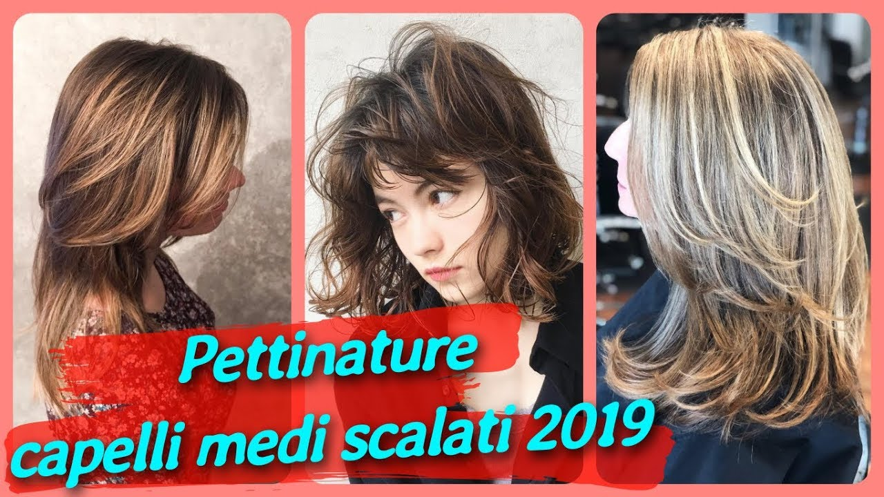 20 Idee Bellissime Per Pettinature Capelli Medi Scalati 2019