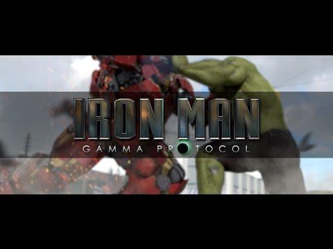 IRON MAN GAMMA PROTOCOL - HULK VS IRON MAN SHORT ANIMATED FILM