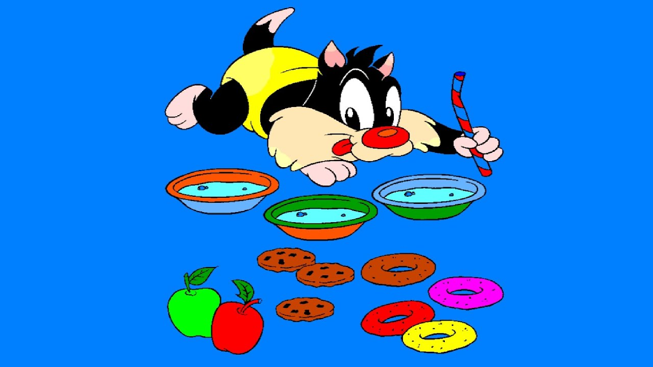 Baby Looney Tunes Coloring Pages   Baby Sylvester Coloring Book ...