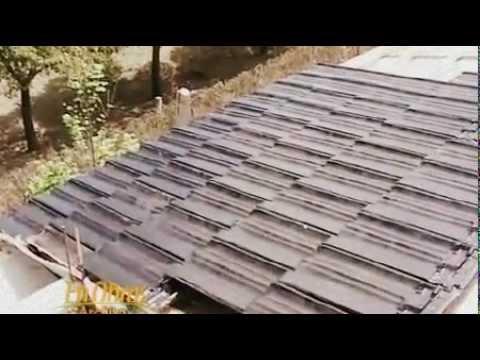 Colocaci n de tejas francesas youtube - Como poner microcemento ...