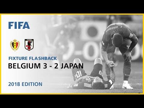 Belgium 3-2 Japan